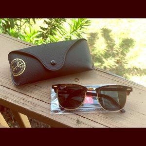 Ray-Ban Polarized Club masters Sunglasses.